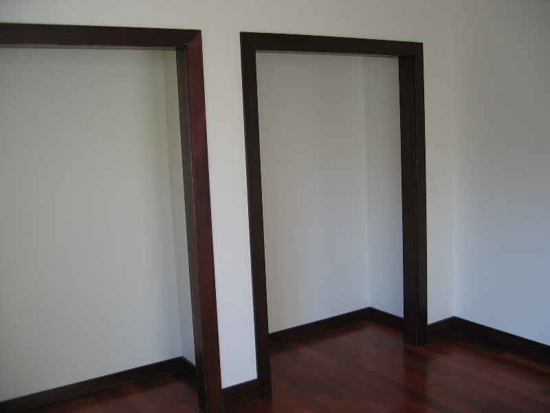 Closets, western bedroom